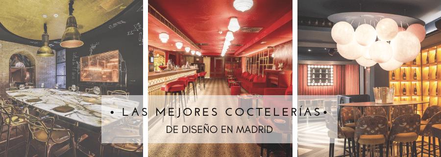 Las mejores coctelerías de diseño de Madrid