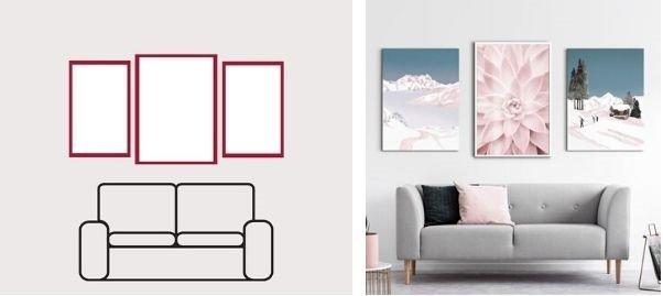 decorar con cuadros