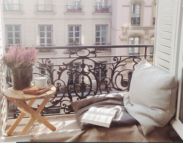 relax mini balcón