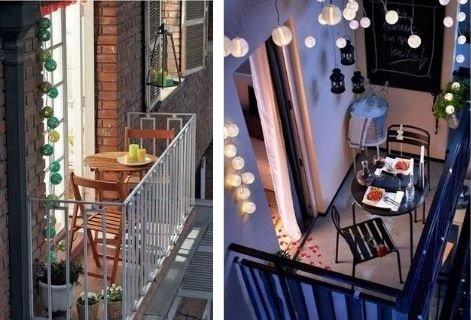 Decorar tu mini balcón