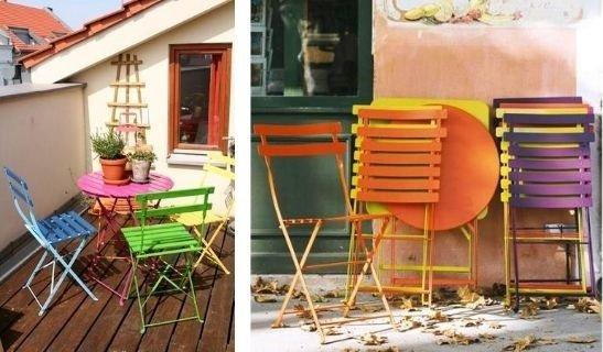 muebles para decorar tu mini balcón