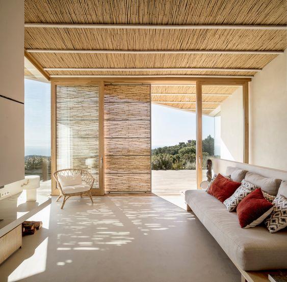 Decoración sostenible bambú