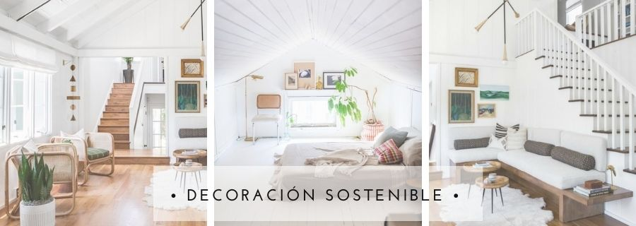 Decoración sostenible esmadeco