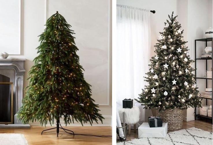 navidad sostenible árbol artificial