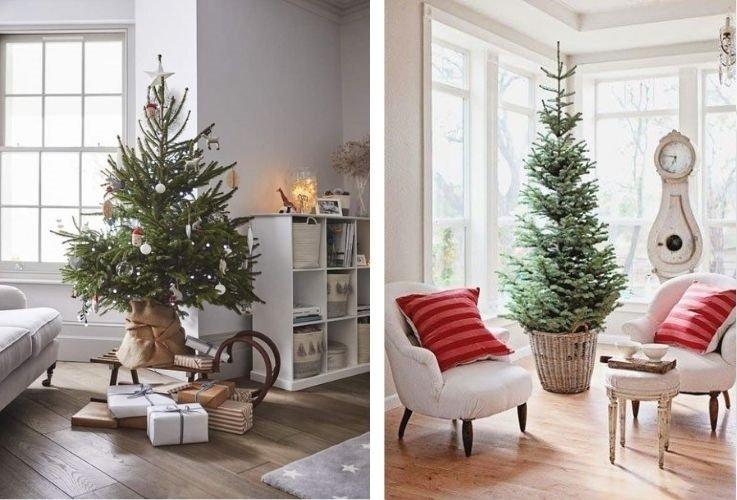 navidad sostenible árbol natural