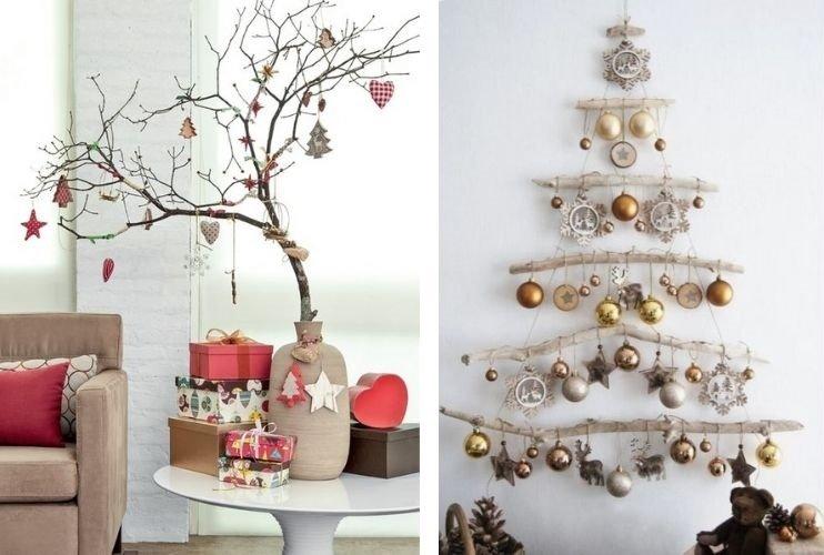navidad sostenible decoración