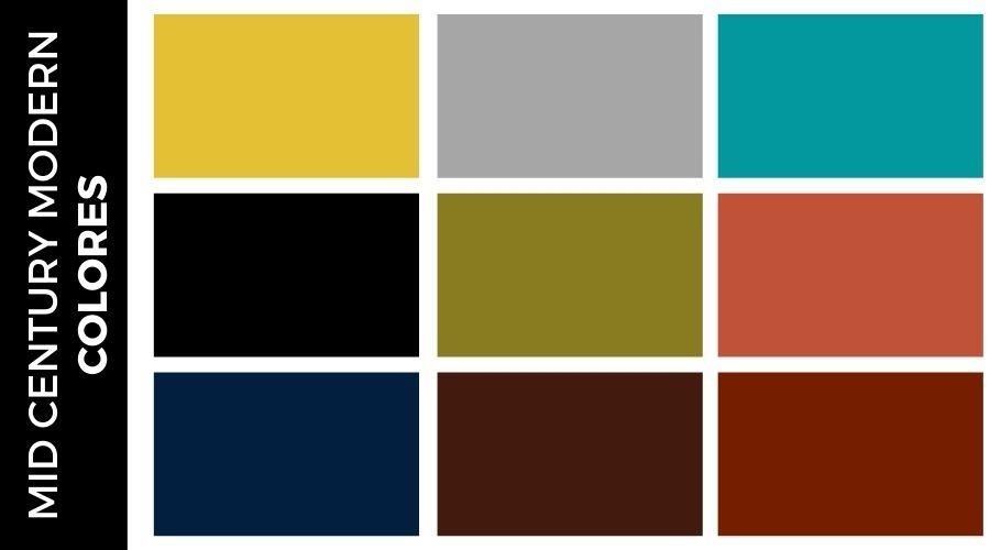 Colores Mid Century