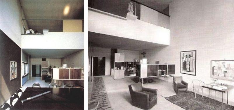 Pabellón L'Esprit Nouveau en París, (1922)de Le Corbusier