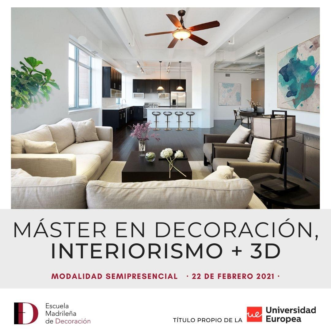 Máster decoración e interiorismo