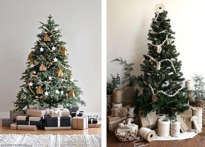 Tendencias en decoración de navidad rústico