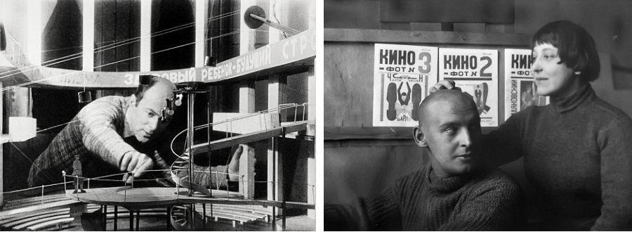 El Lissitzky, Aleksandr Ródchenko y Varvara Stepanova