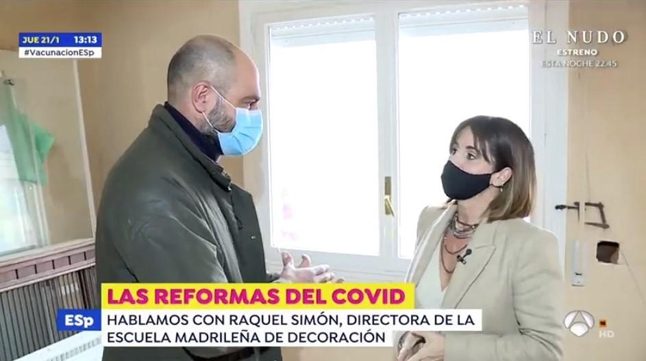 Raquel Simón habla sobre las reformas durante la pandemia
