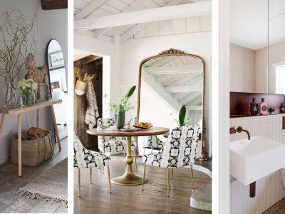 Grandes espejos para ampliar espacios